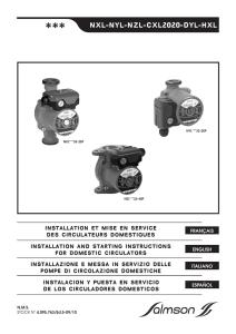 230V Coffret de d/émarrage pompe de puit 0.55Kw