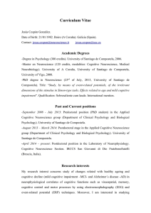 Curriculum Vitae - Cognitive Neuroscience Section