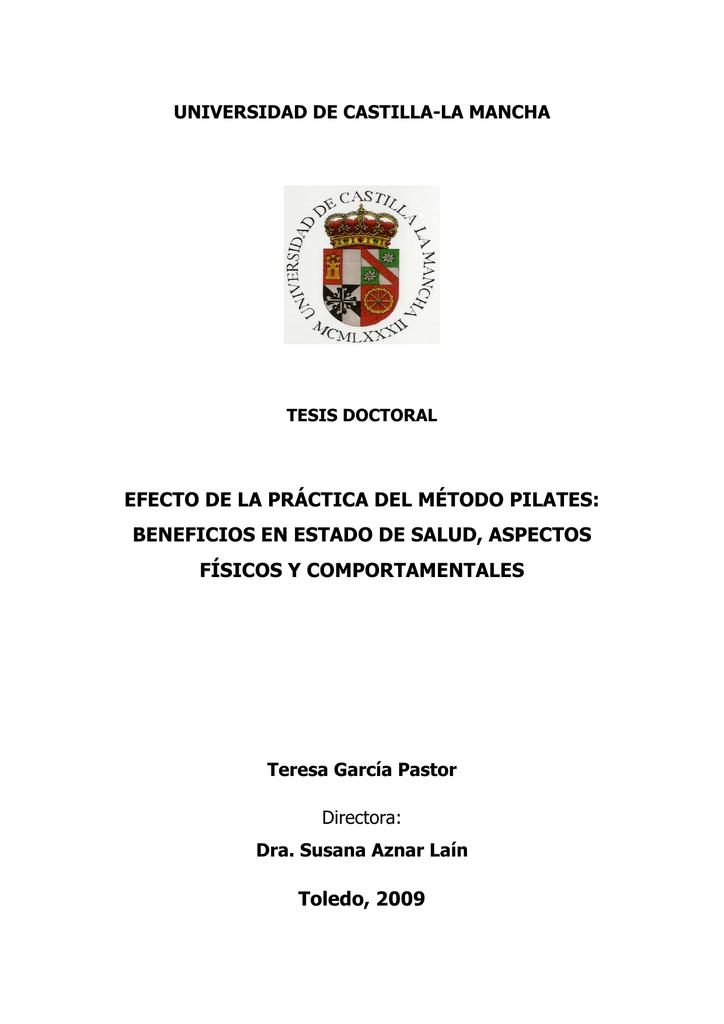 EFECTO DE LA PRÁCTICA DEL MÉTODO PILATES: BENEFICIOS