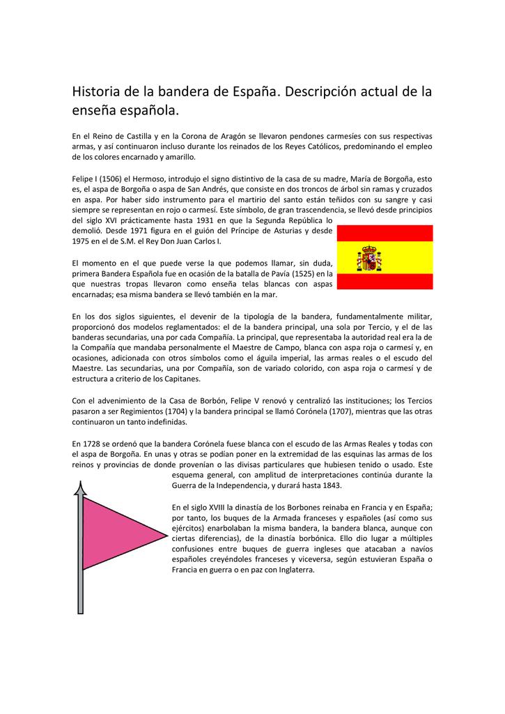 primera bandera espanola de la historia