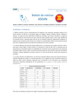 La asean y el mercosur similitudes diferencias y potencialidades boletn de noticias consejo argentino para las relaciones malvernweather Images