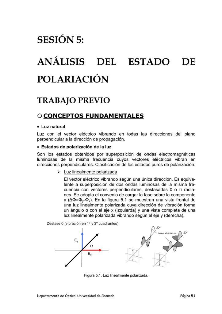 a4818b3185 Análisis del estado de polarización de la luz.