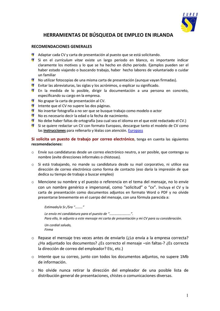 carta de presentacion para empleos - Etame.mibawa.co