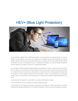 HEV+ (Blue Light Protection)