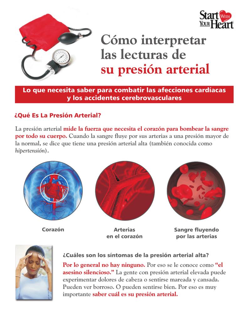 Presión arterial normal durante el accidente cerebrovascular