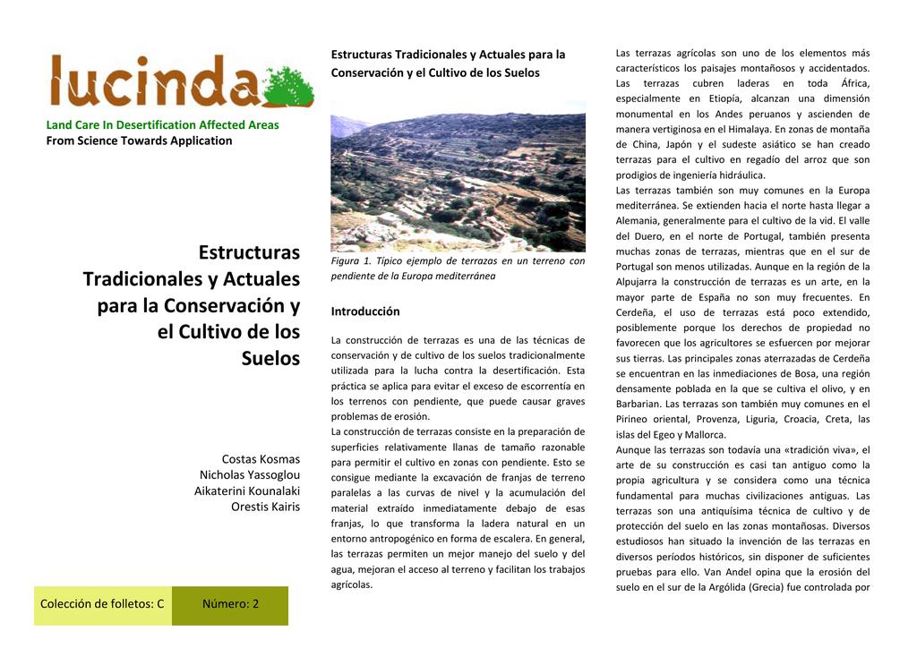 Estructuras Tradicionales Y Actuales Para La Conservación Y El