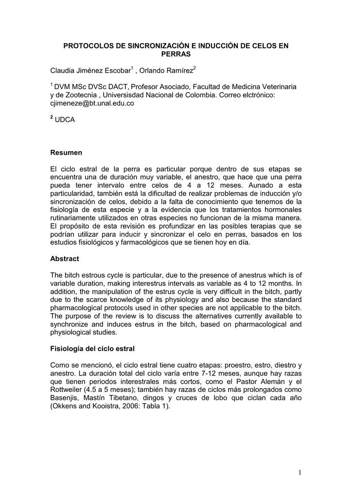 1 PROTOCOLOS DE SINCRONIZACIÓN E INDUCCIÓN