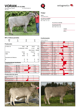 Swissgenetics International: Roos OB Vento VORAN