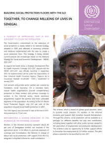 TOGETHER, TO CHANGE MILLIONS OF LIVES IN SENEGAL