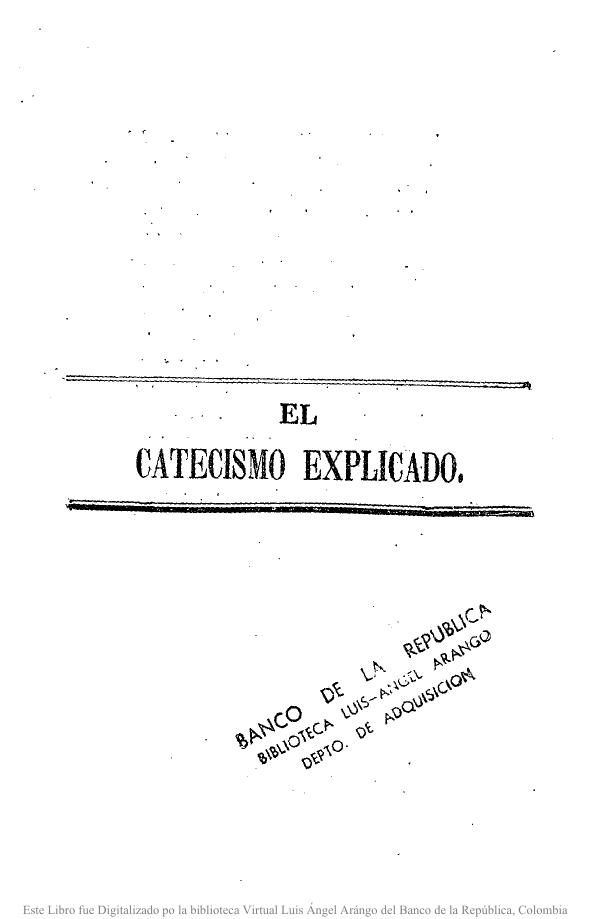 Catecismo de la doctrina cristiana / del padre Gaspar Astete