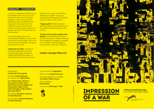 impression of a war - Camilo Restrepo Films