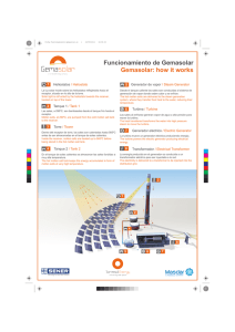 Gemasolar: how it works Funcionamiento de Gemasolar