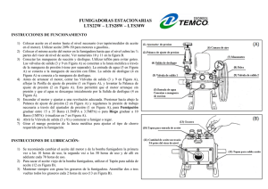 Instructivos de fumigadoras estacionarias