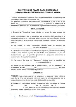 Modelo contrato arras con clausula precario for Contrato de hipoteca