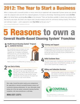 5 Reasons to own a - Coverall of Canada