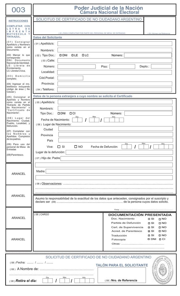 FORMULARIO NRO 003 CNE AL 01-12-2015.cdr