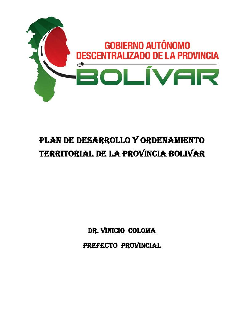 plan de desarrollo y ordenamiento territorial de la provincia bolivar a57462a0417