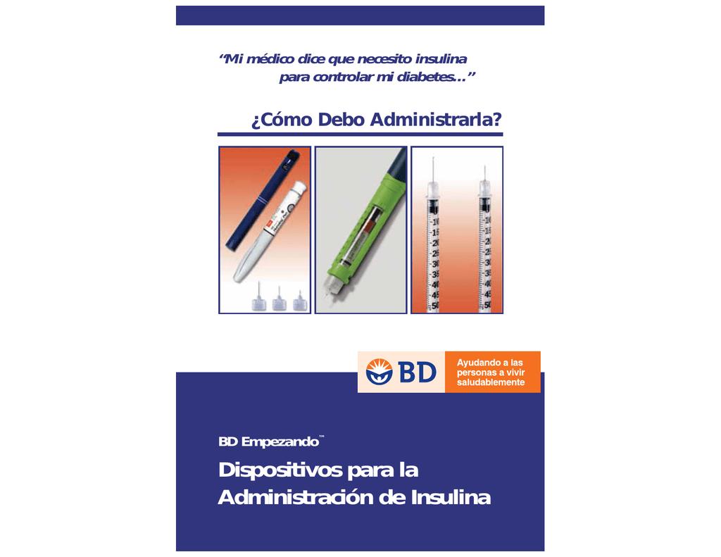 bd insulina pluma agujas diabetes dieta