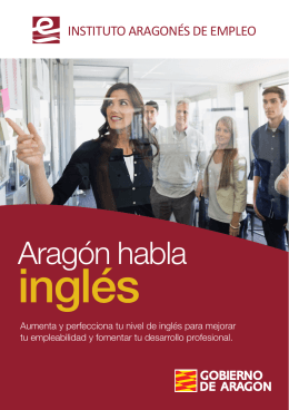 Folleto - Aragon habla ingles