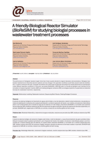 A friendly-Biological Reactor Simulator (BioReSIM) for studying