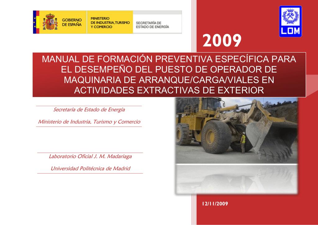 ET 2001-1-08 - Ministerio de Industria, Energía y Turismo