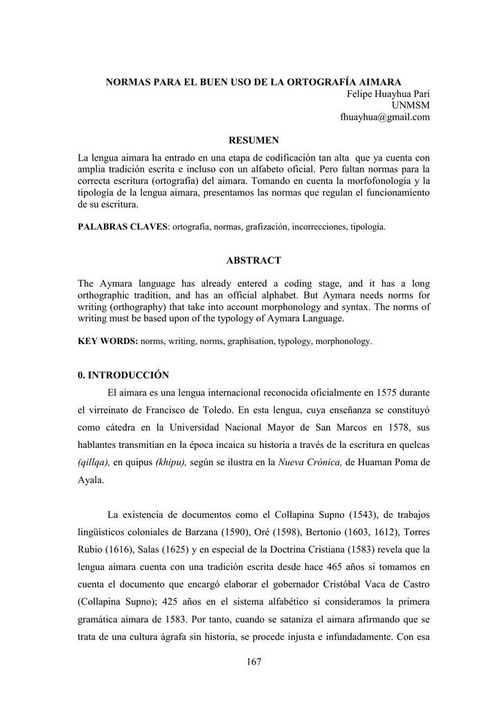 Estructura Morfologica Universidad Nacional Mayor De San
