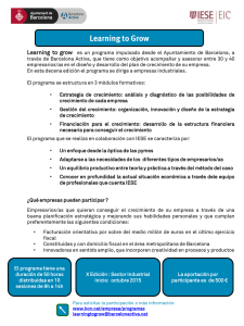 Learning to grow Descarga el programa