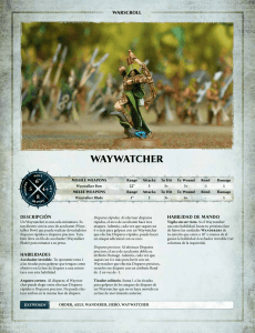 waywatcher - Games Workshop