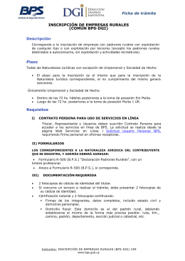 INSCRIPCION DE EMPRESAS RURALES V07