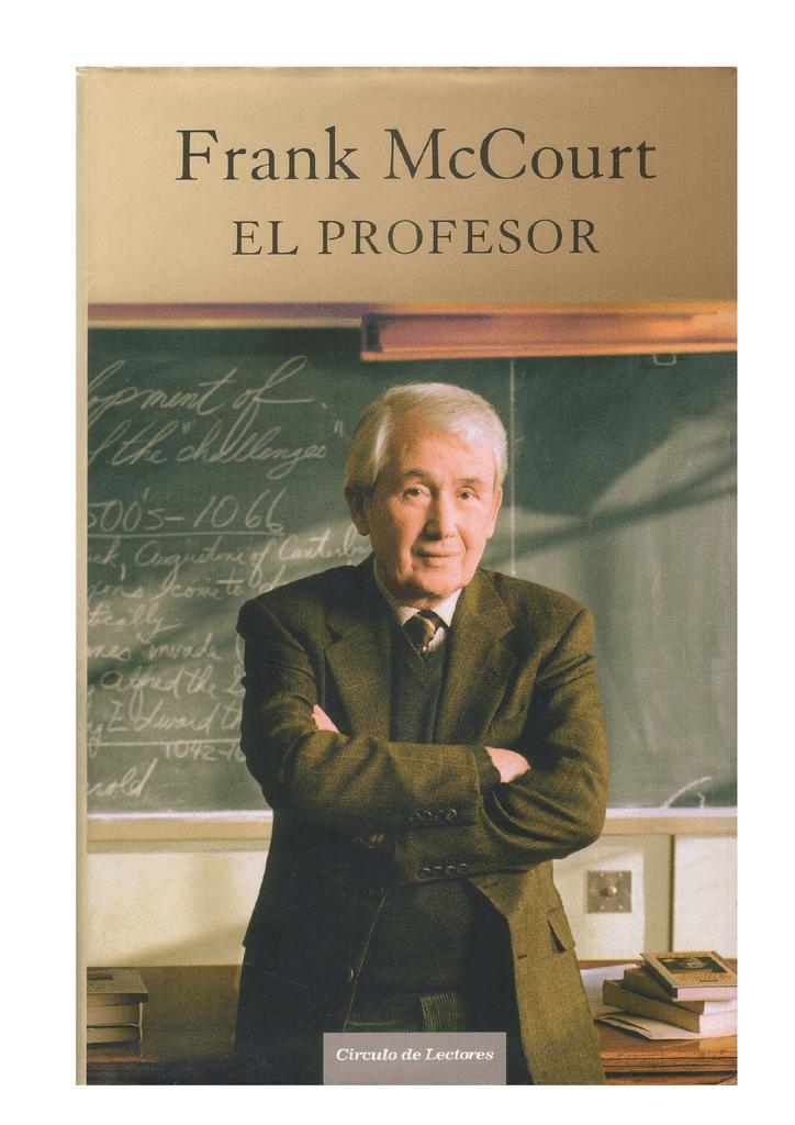 Resultado de imagen de el profesor, Mccourt