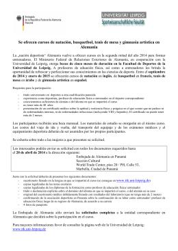 Anexo iii federaci n extreme de atletismo for Clases de natacion df