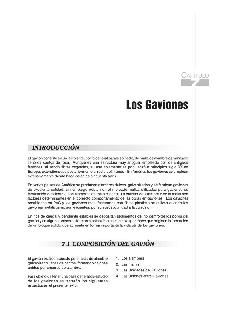 gaviones decorativos mil anuncios com para piedras 134526673 3 Capítulo 7. Los Gaviones -