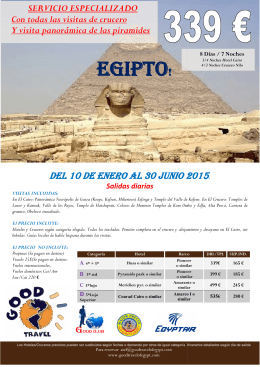 egipto egipto! - Good Travel of Egypt