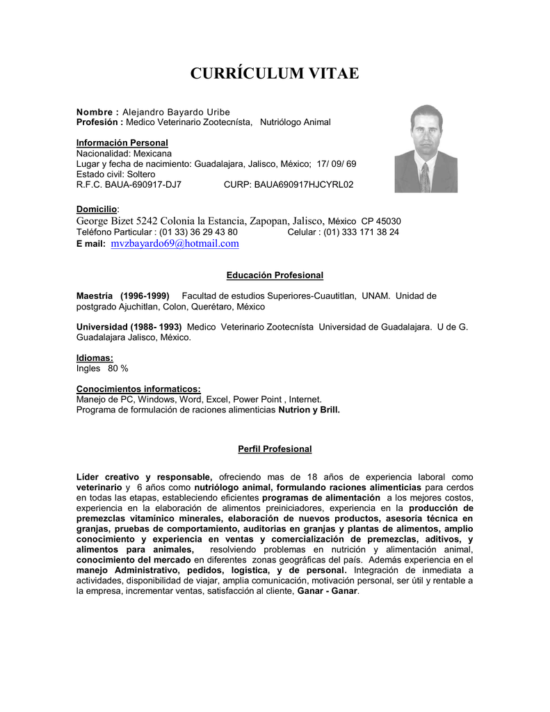 Lujoso Plantilla De Currículum Para Asistente Veterinario Componente ...