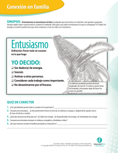 Entusiasmo - Character First Education