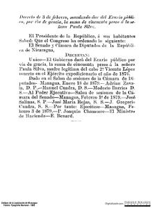 22008a215b9 Decreto - Mandando dar del Erario Publico por vía de gracia la