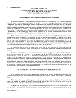 Pc 2 – DOCUMENTO 01. DIRECTORIO APOSTÓLICO