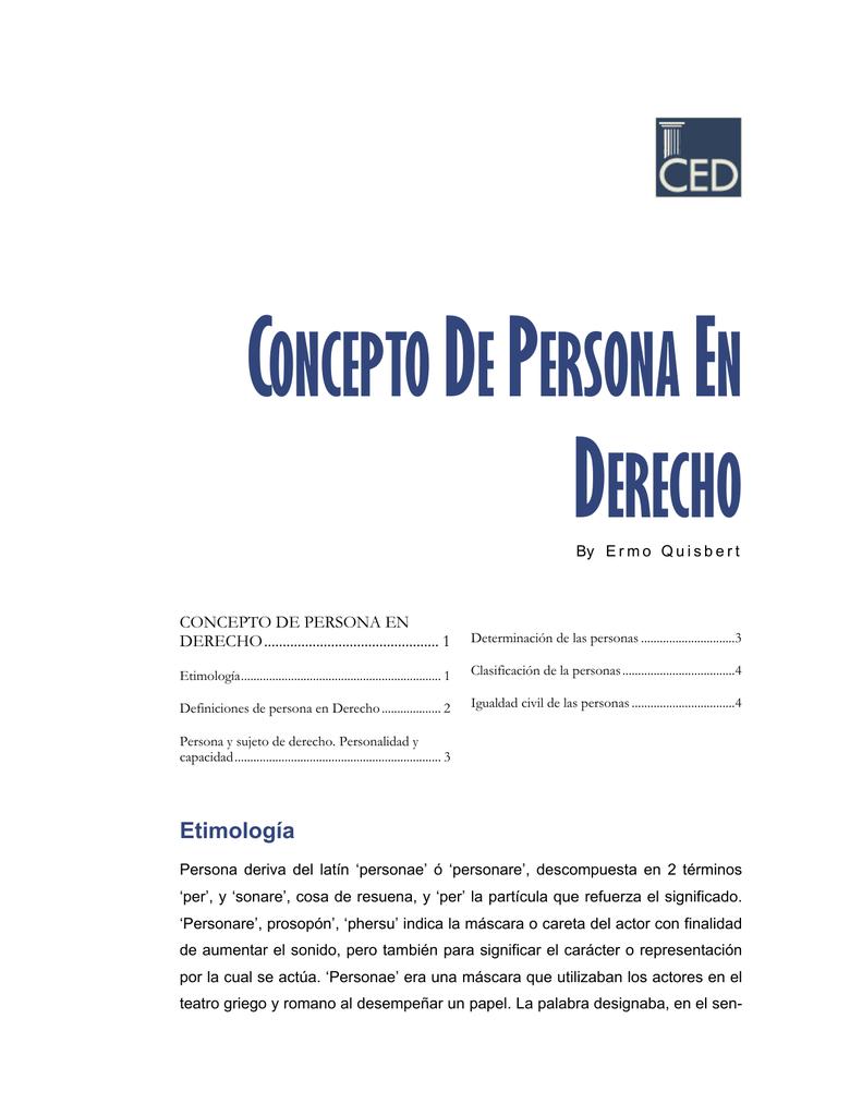 6e51dee01536 concepto de persona en derecho