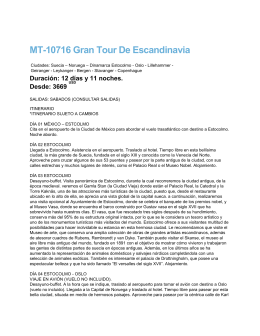 MT-10716 Gran Tour De Escandinavia