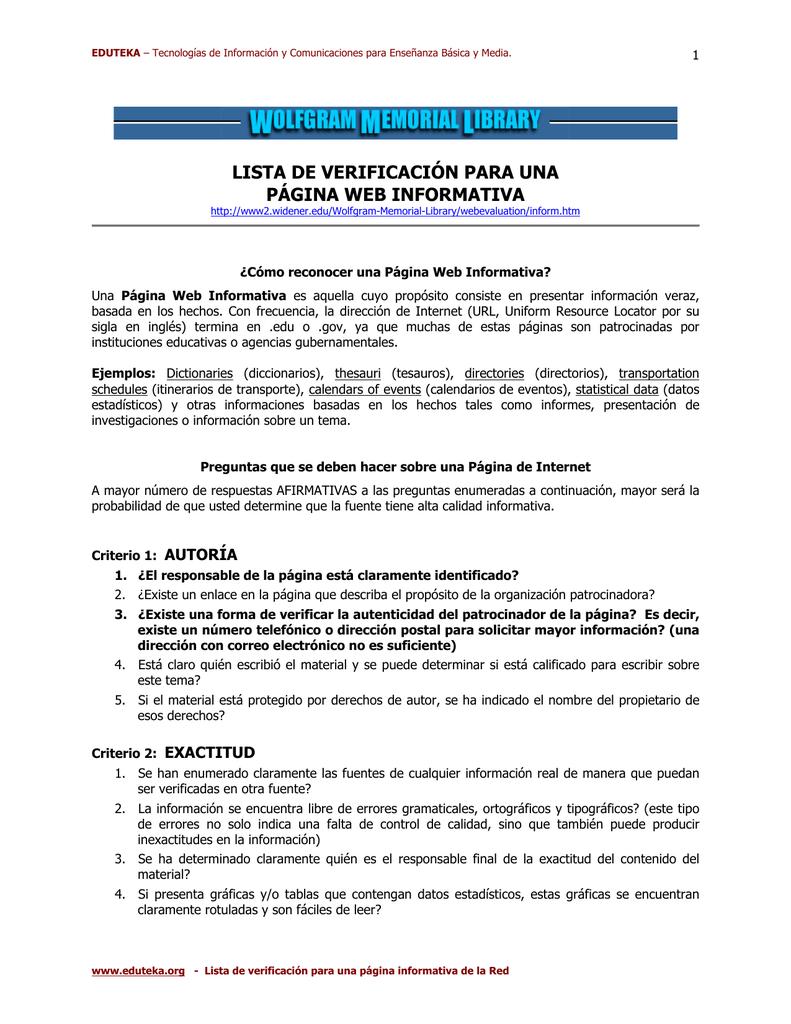 Lista de Chequeo - PDF