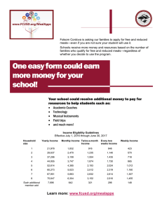 One easy form could earn more money for your school!