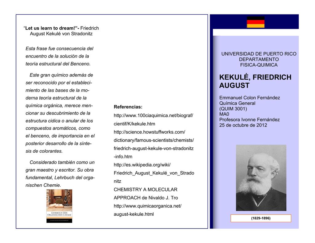 Friedrich August Kekulé