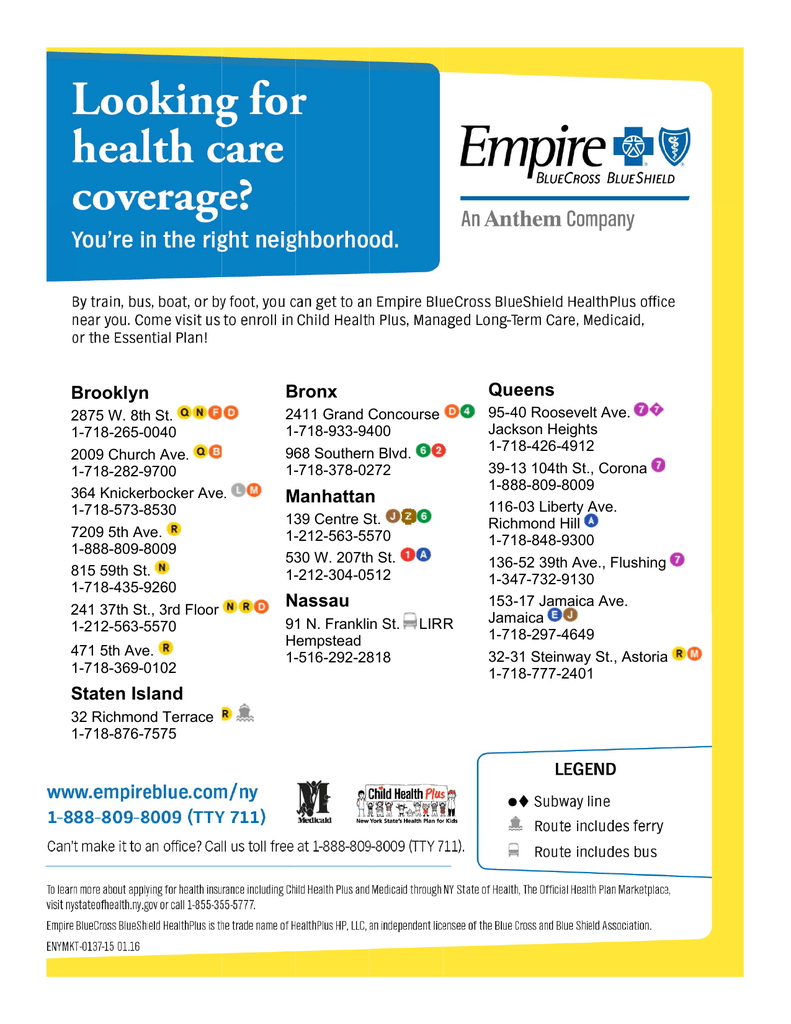 Looking for health care coverage?