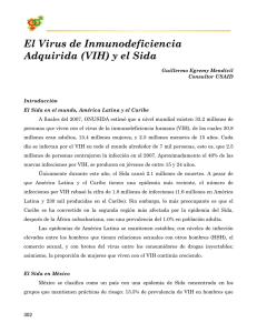 El Virus de Inmunodeficiencia Adquirida (VIH) y el Sida