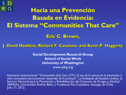 """Social Development Research Group"", Universidad de Washington"