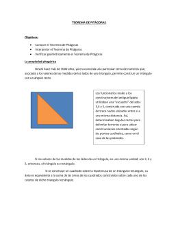 diez demostraciones visuales del teorema de pitágoras silvia