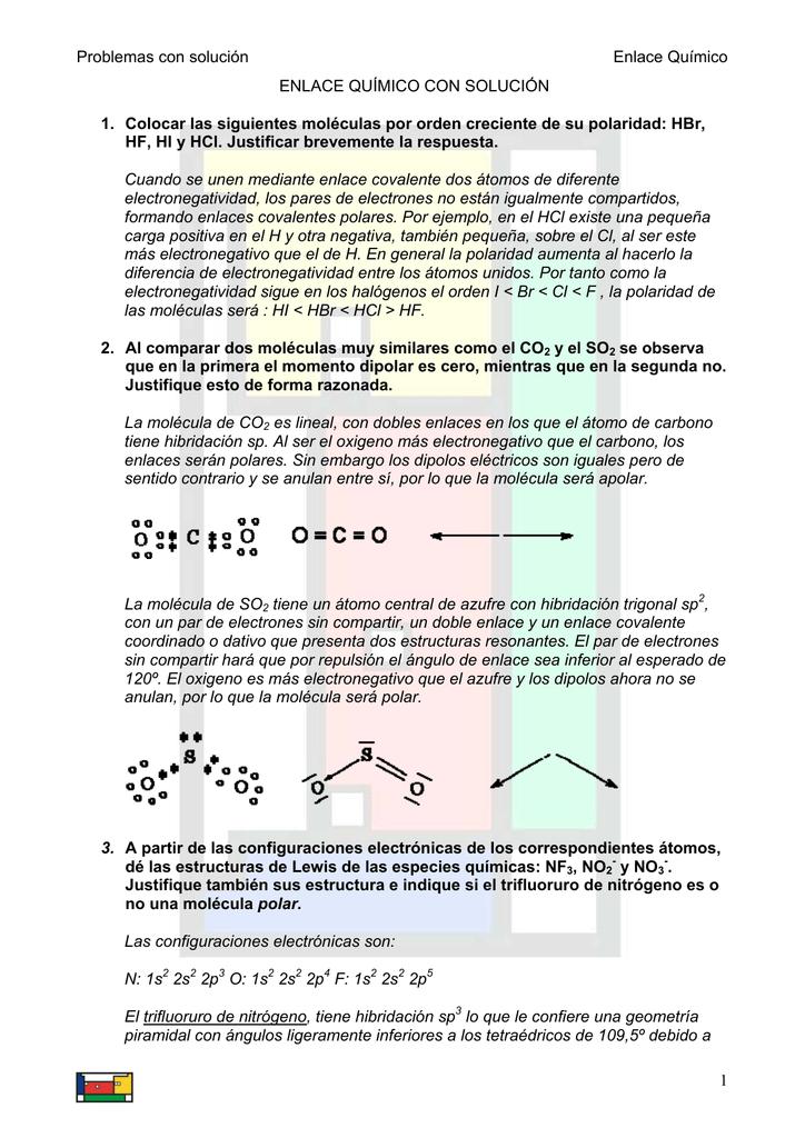 Tema 3 Enlace Recursos De Física Y Química