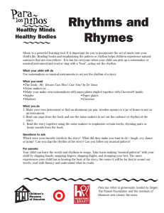 Rhythms and Rhymes - Children`s Museum of Houston