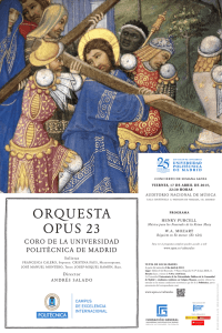 orquesta opus 23 - Universidad Politécnica de Madrid