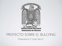 Graficas Bullying - Un Tutor para ti